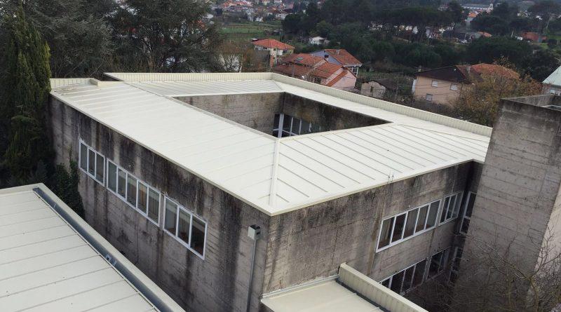 Reforma cubierta Universidad Laboral, Ourense
